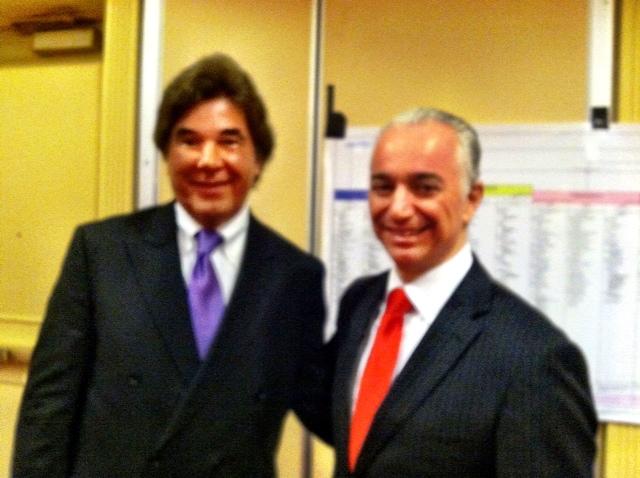 Steve Pohlit with Meir Ezra